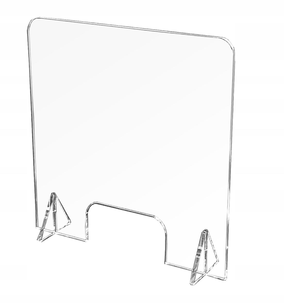 OSŁONA, PLEXI Ochrona AntyWirusowa na biurko 60x60