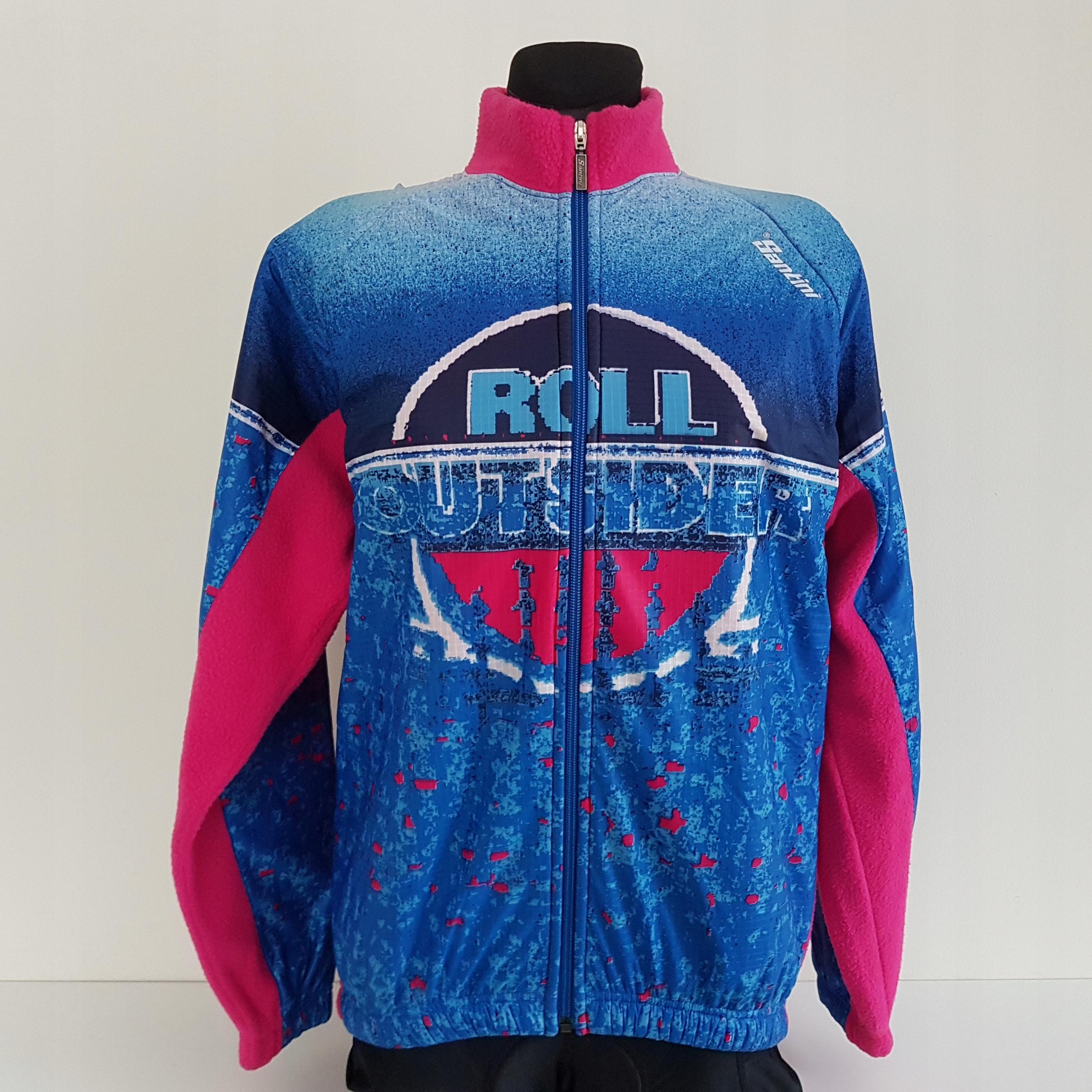Retro cyklistická bunda Santini, nová L.