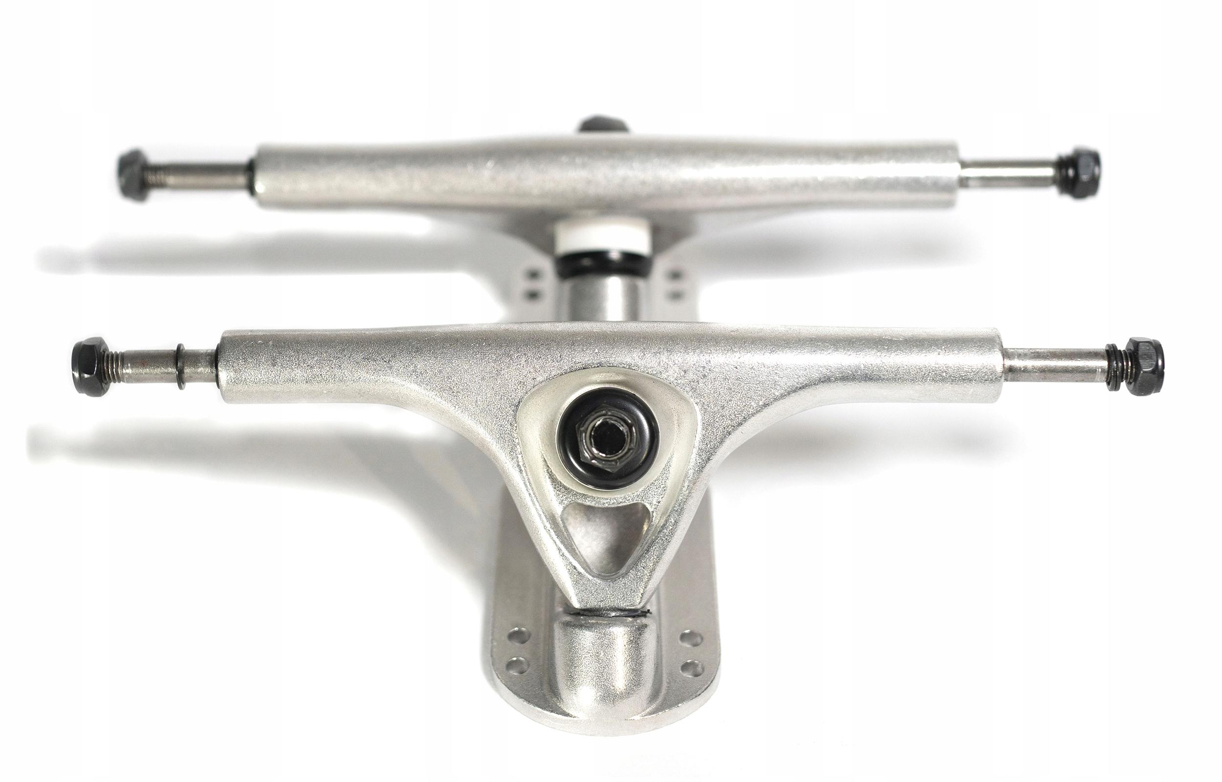 Prepínač LONGBOARD TRUCK odpruženie 180 mm (strieborný)