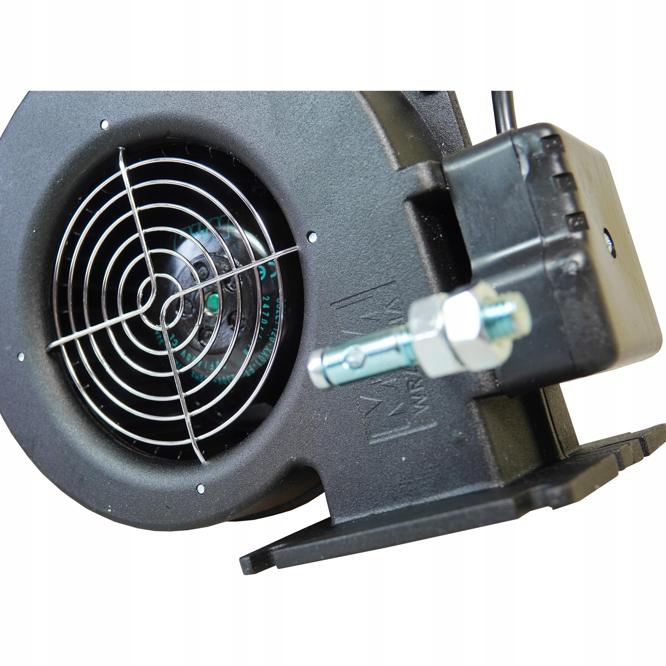 Dúchadlo WPA x2 ventilátor kotlovej pece WPA 120 67W Hmotnosť produktu s samostatným balením 2,6 kg
