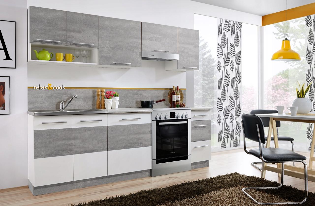дешевая Кухня МЕБЕЛЬ Кухонные RELAX 2 ,4 М 2 ЦВЕТА