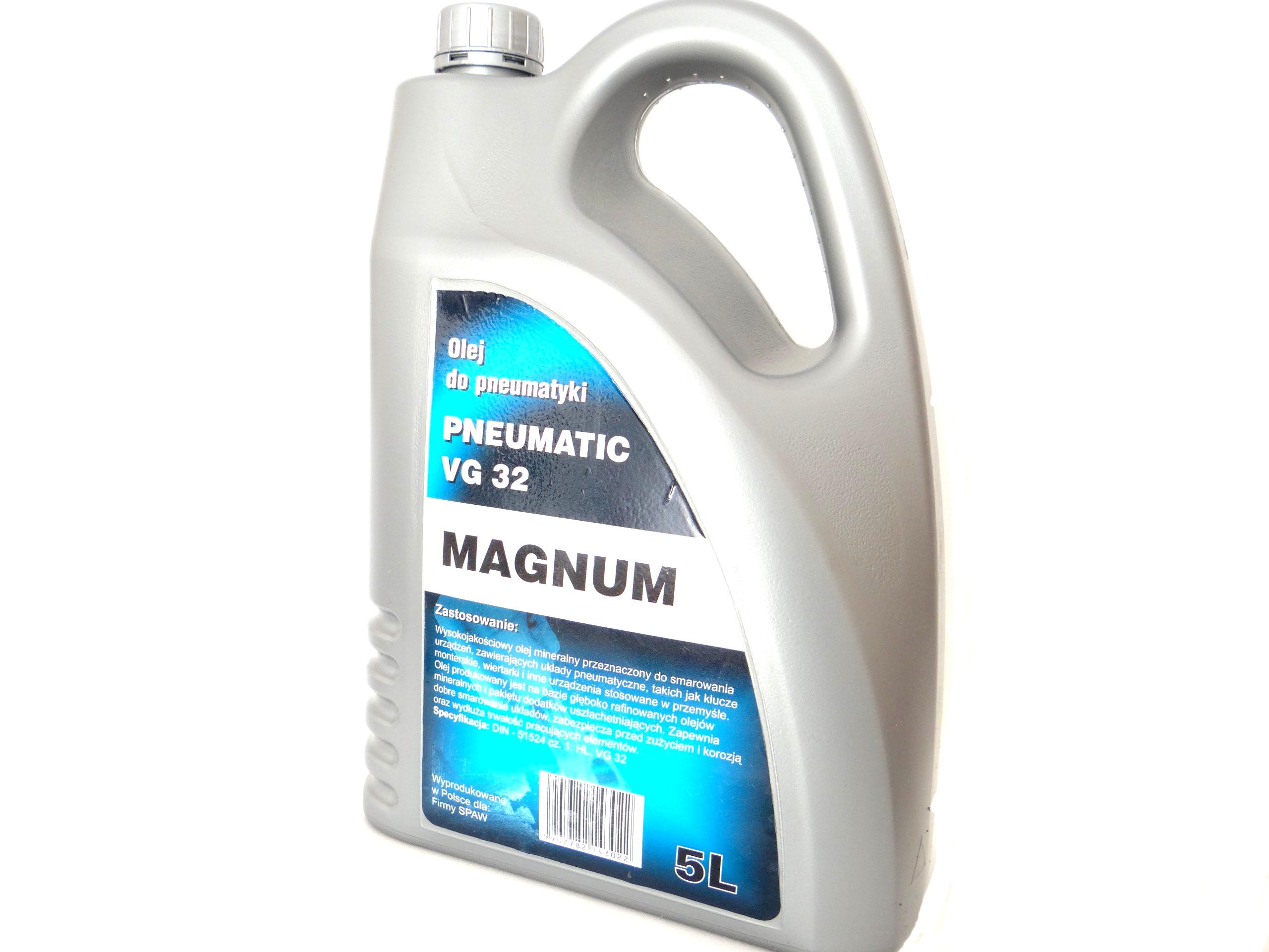 Olej pre zariadenia a pneumatické náradie 5 litrov