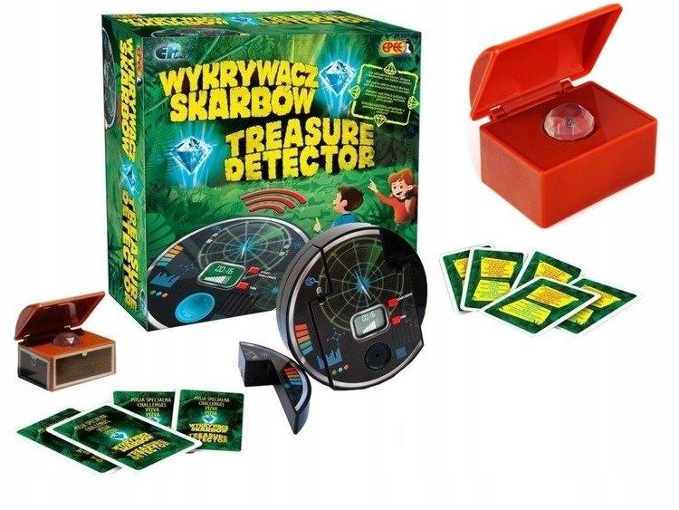 Interaktívna hra s detektorom pokladov Epee 02606