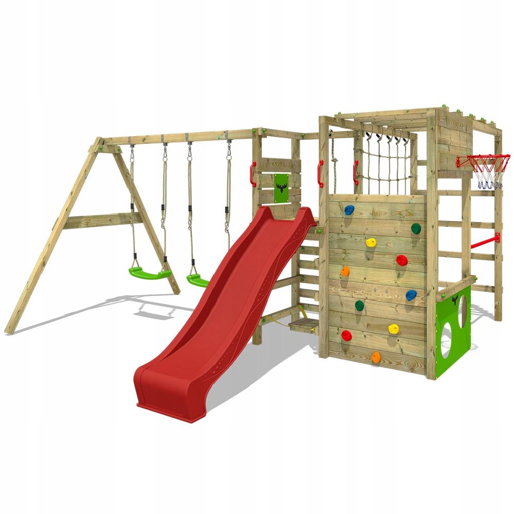 FATMOOSE ActionArena drewniany plac zabaw wieża