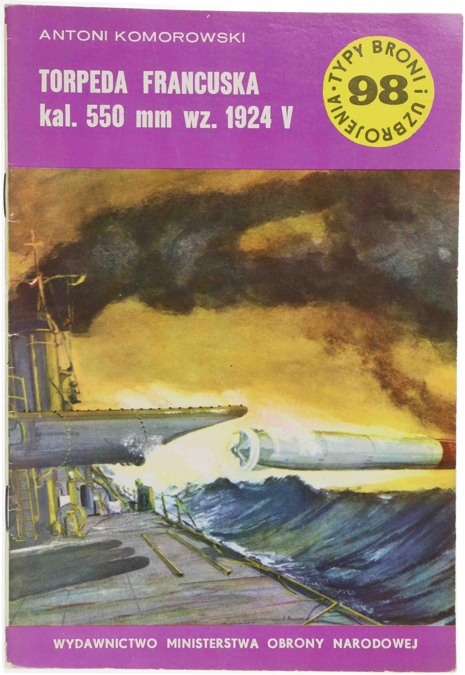 Francúzsky torpédo kal. 550 mm wz. 1924V, TBIU98