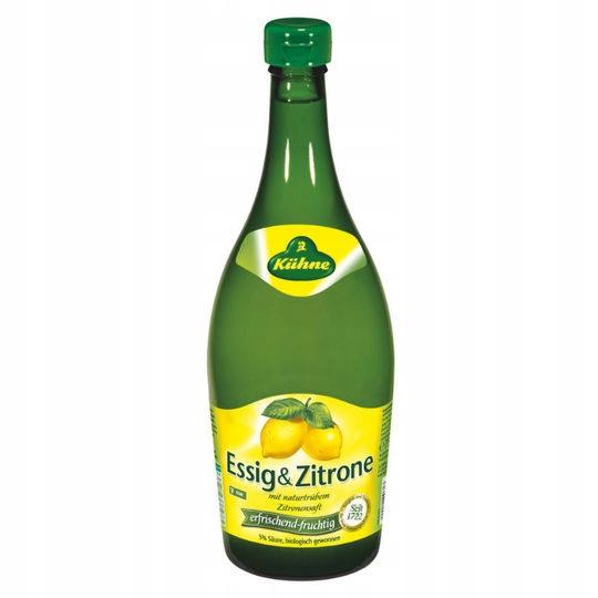 Купить KUHNE  УКСУС С ЛИМОНОМ ESSIG ZITRONE на Eurozakup - цены и фото - доставка из Польши и стран Европы в Украину.