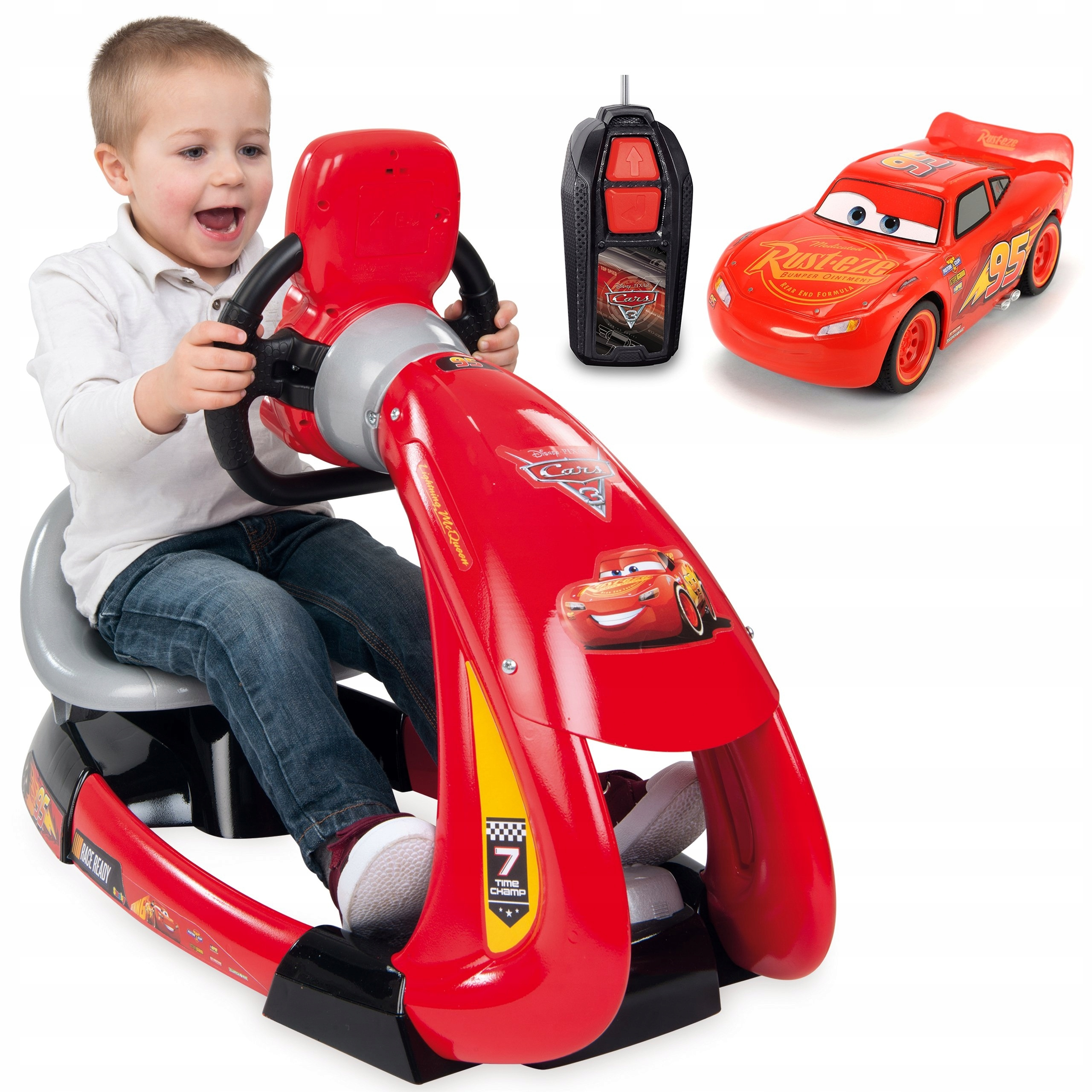 SMOBY CARS 3 DRIVING Simulator Volant APP