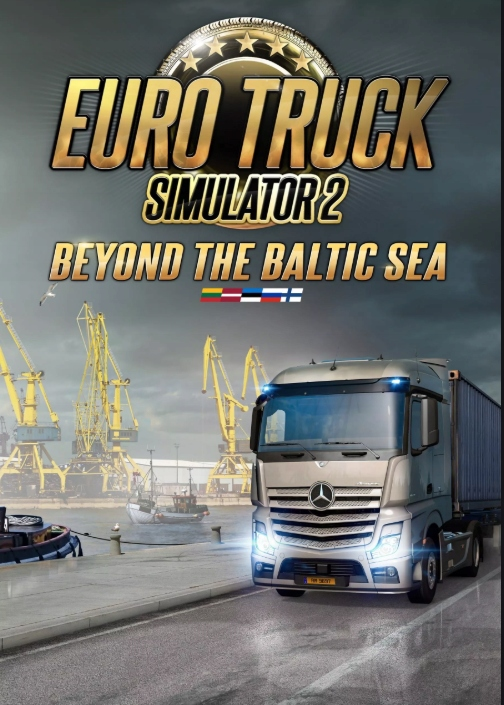 Купить EURO TRUCK SIMULATOR 2 BEYOND THE BALTIC SEA STEAM на Otpravka - цены и фото - доставка из Польши и стран Европы в Украину.
