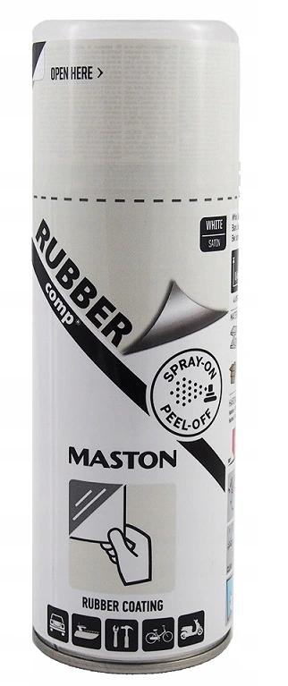MASTON жидкая резина-спрей для дисков 400 мл белый