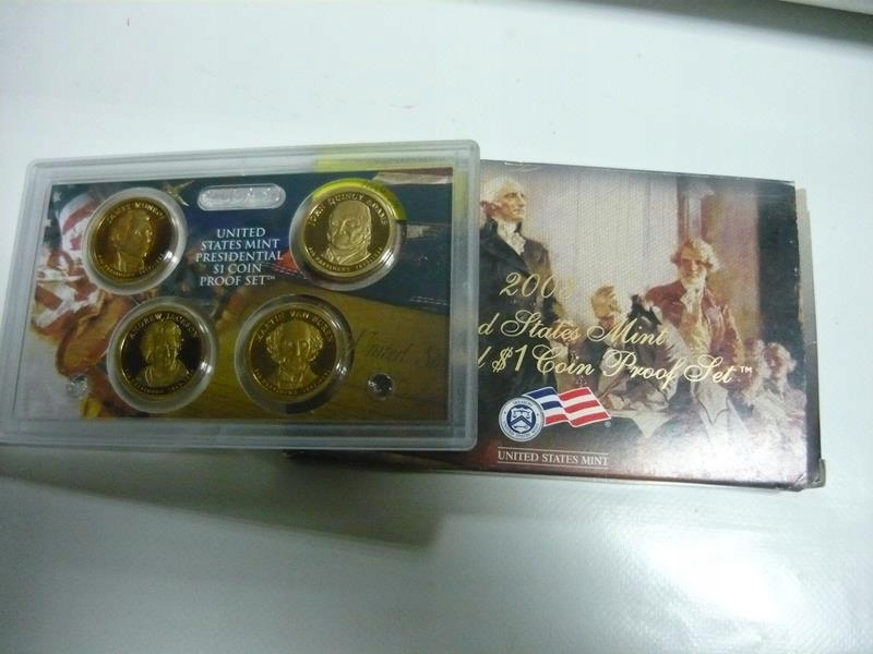 Amerika US Prezident prezident 1 $ 2008 mince