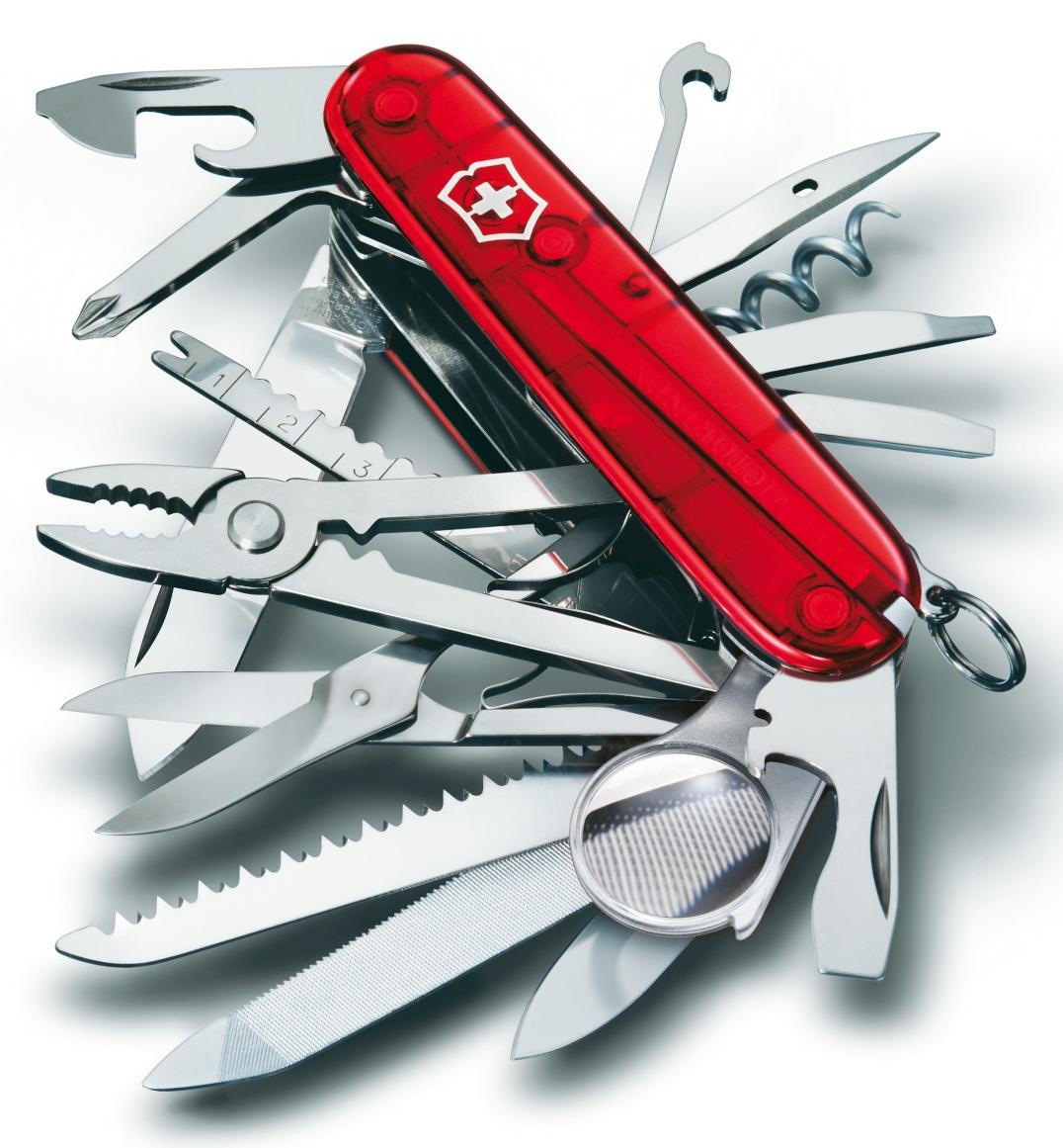 vreckový nôž Victorinox 1.6795.T SwissChamp 91mm 33fun