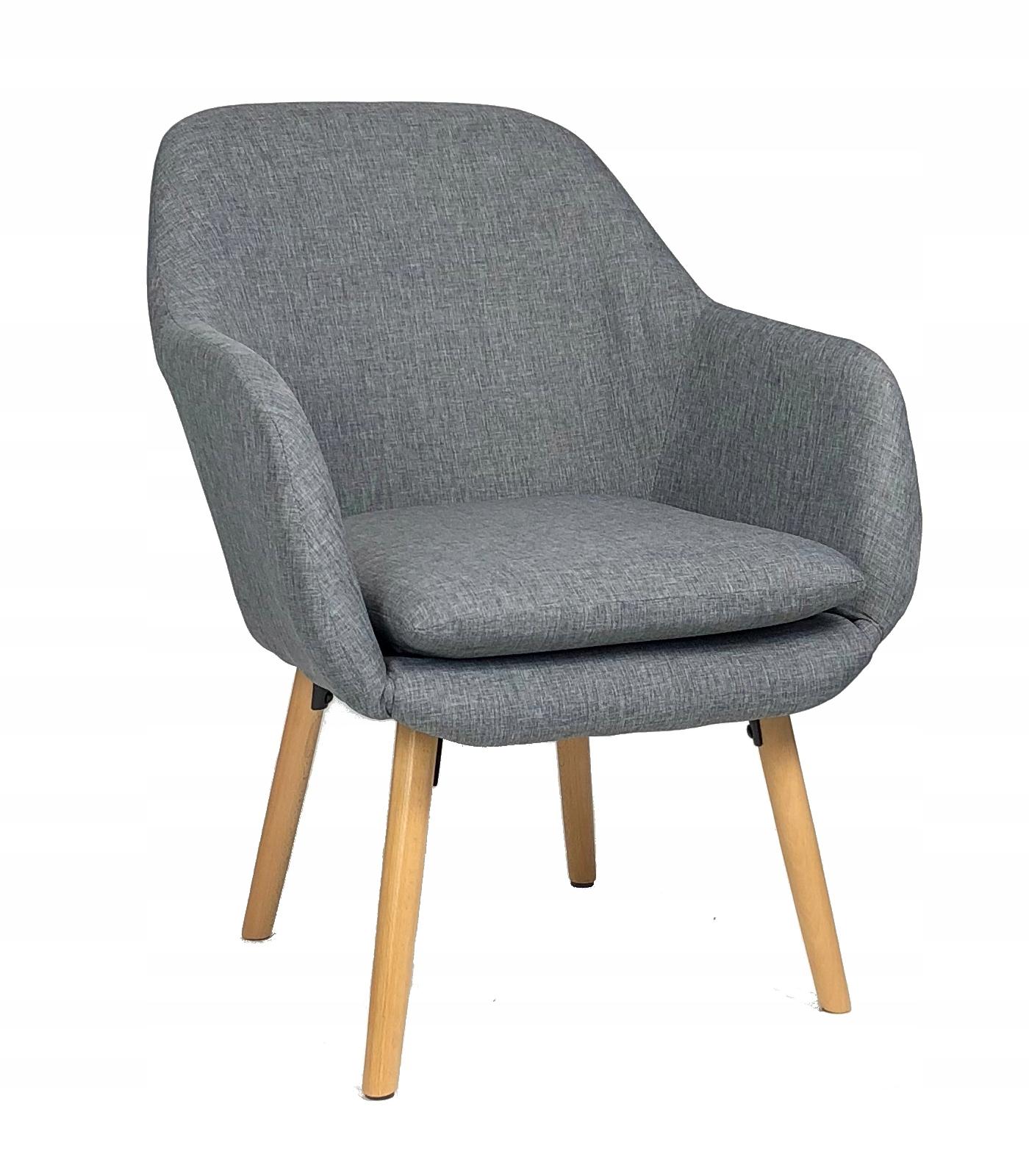 Мягкое кресло Boston grey