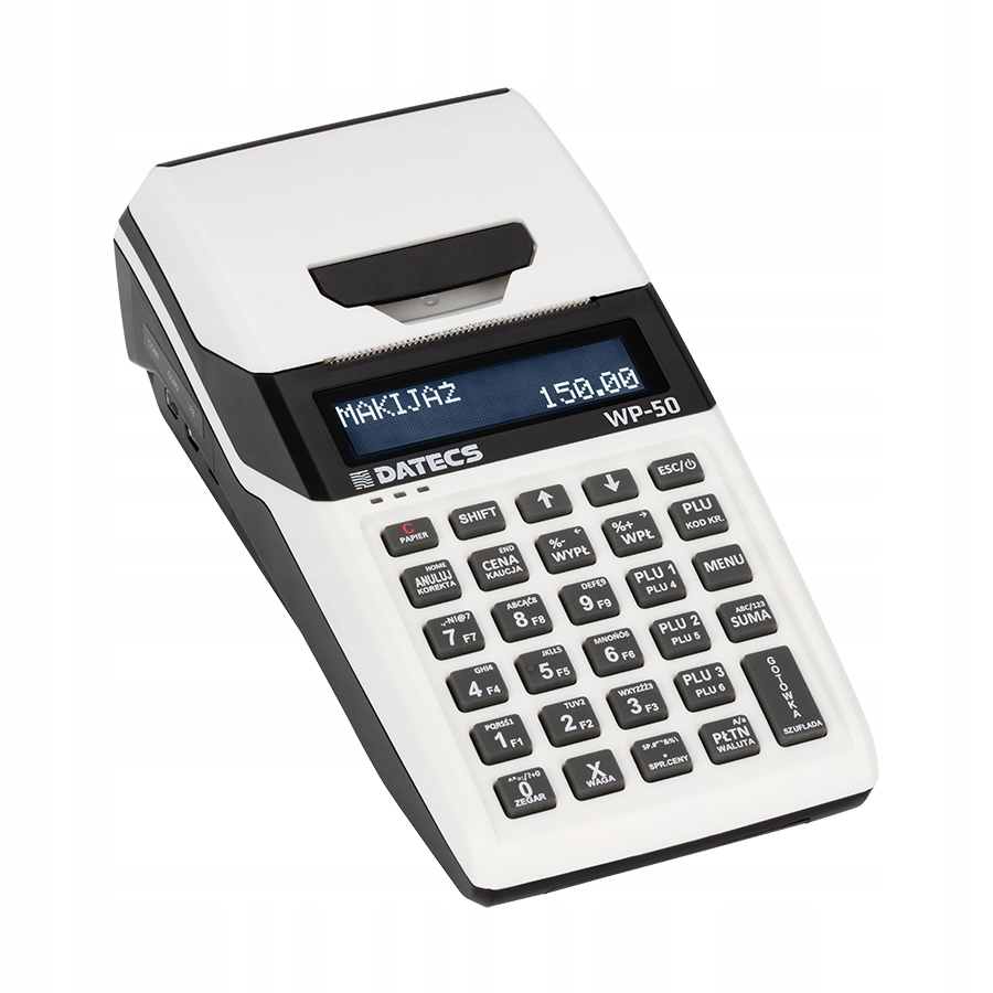 Kasa Fiskalna Online przenośna DATECS WP-50 WiFi