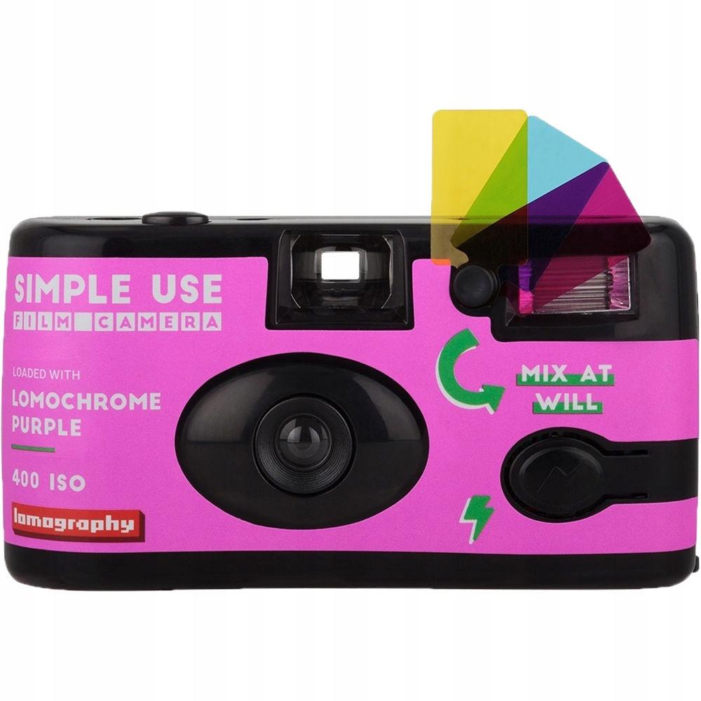 Jednorazová kamera Lomography 36 Psychedelické fotografie
