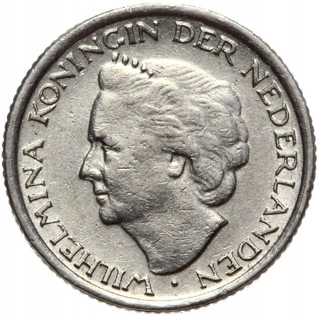 Holandsko - mince - 10 centov 1948 - Zriedkavé!