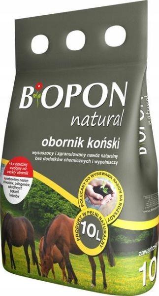 OBORNIK KOŃSKI GRANULOWANY naturalny Biopon 10l