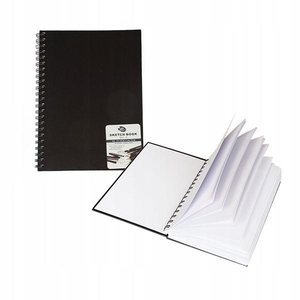 Item Sketchbook A4 hard cover 80 sheets spiral 110g