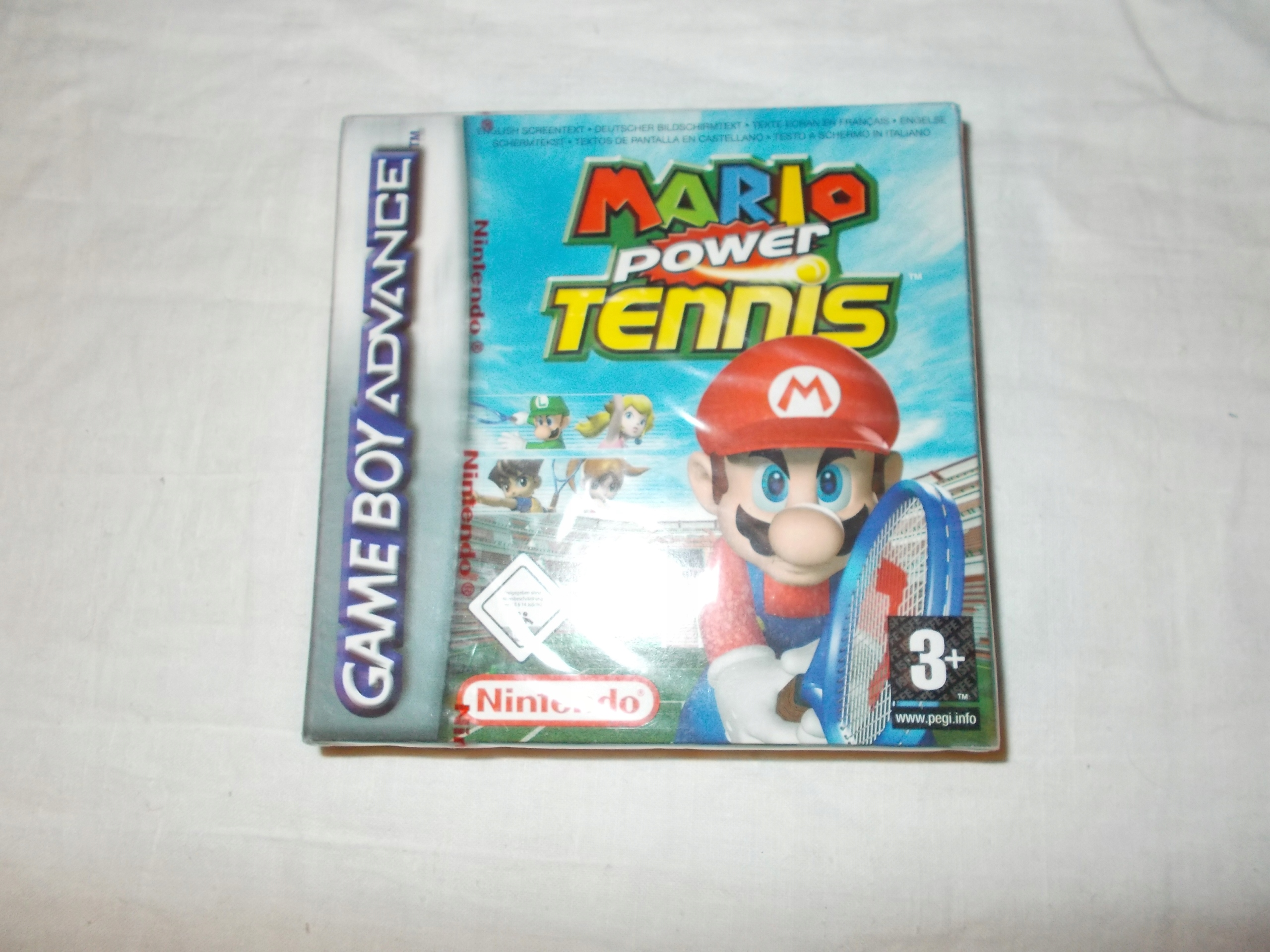 GBA gameboy advance Mario power tennis film