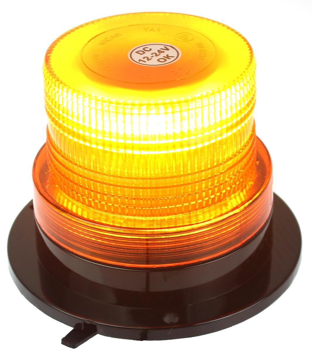 лампа предупреждения стробоскопа петух led 12-24v магнит