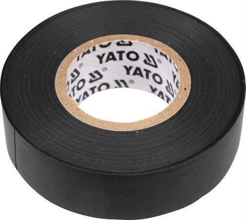 YATO TAŚMA IZOLACYJNA CZARNA YATO-8165 20Mx19MM