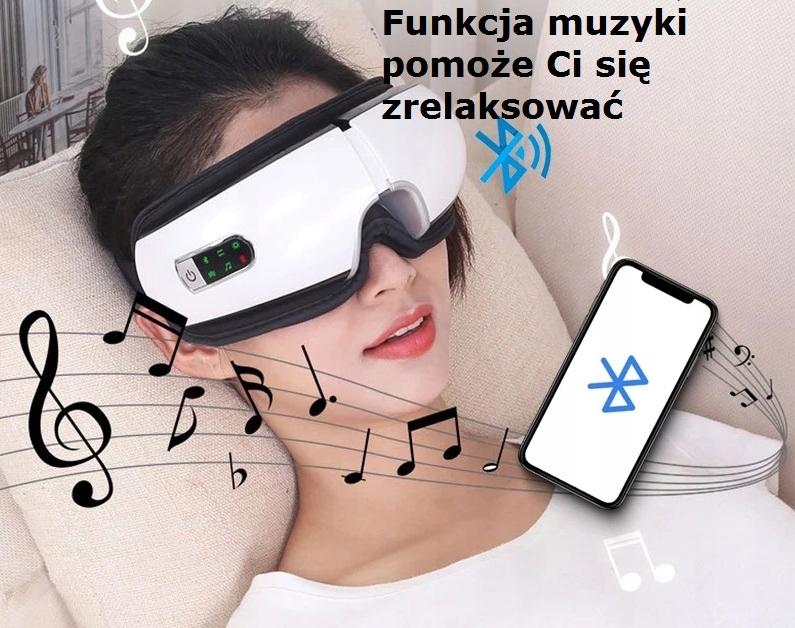 Купить Вибрирующий массажер для глаз, головная боль, СОН Боль на Otpravka - цены и фото - доставка из Польши и стран Европы в Украину.