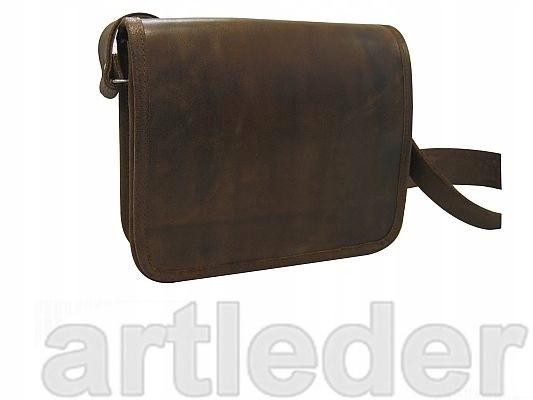 Taška kožené Aktovky, retro, dnes postwoman ARTLEDER