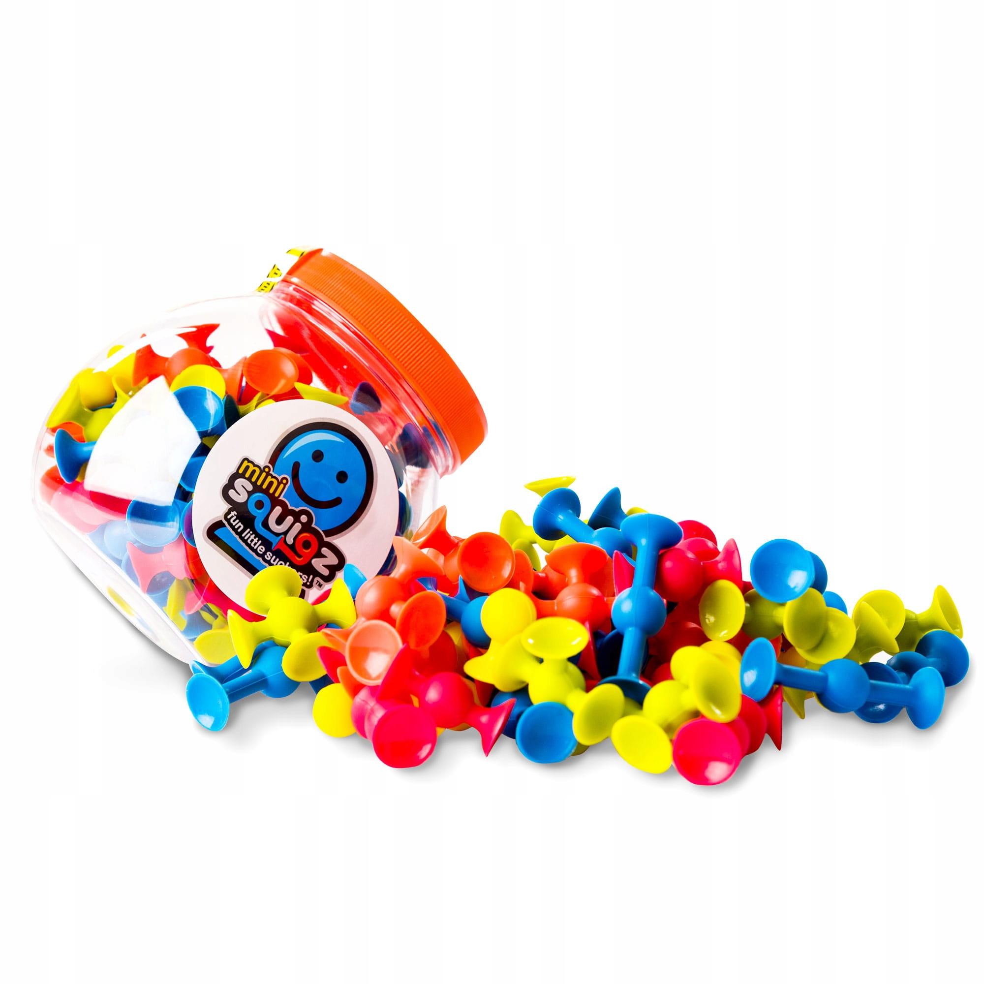 Fat Brain Toys Mini Squigz Przyssawki 75El, FA107 Marka Fat Brain Toys