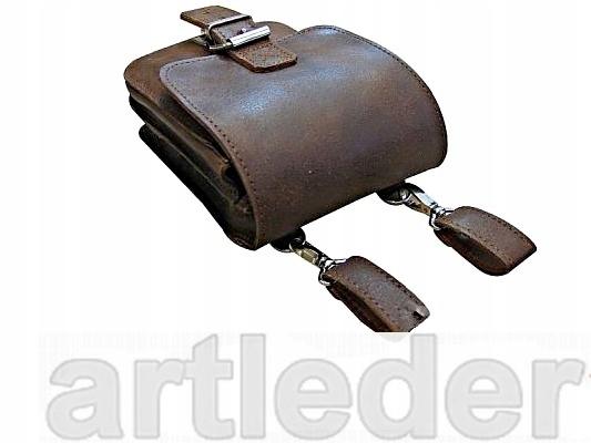 taška na motorku, opasok a rameno POLISH RETRO LEATHER