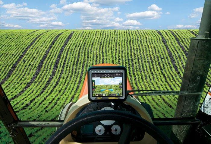 Nawigacja rolnicza GPS - MATRIX 570GS - antena RXA30 - TeeJet 10
