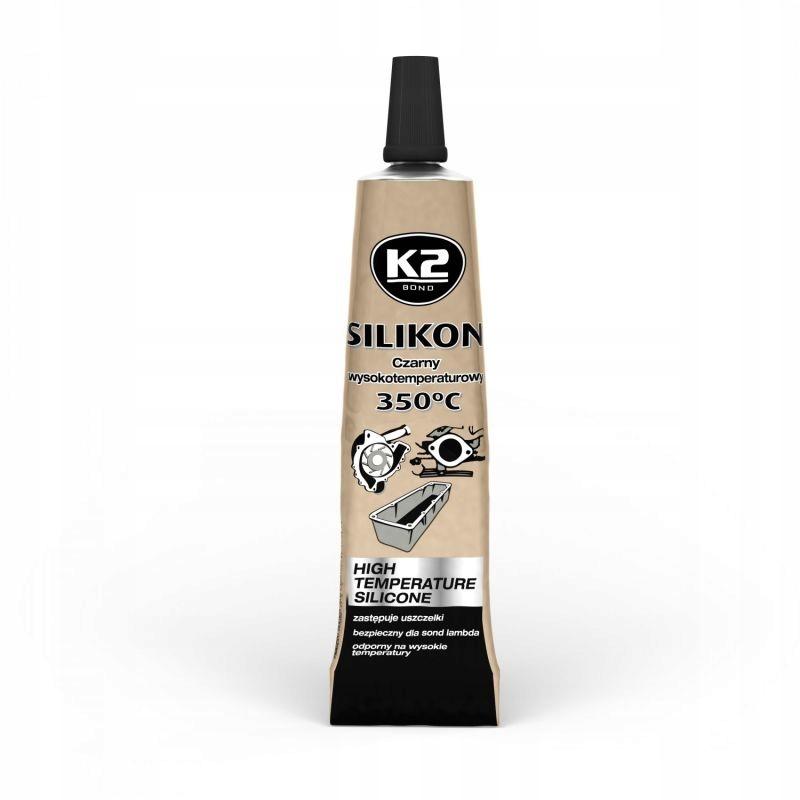 K2 СИЛИКОН WYSOKOTEMPERAT ЧЕРНЫЙ +350°C 21G B205