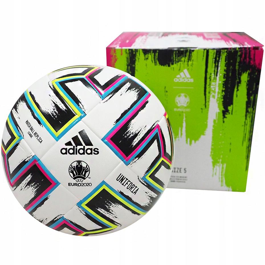 PIŁKA nożna Adidas Uniforia Euro 2020 PUDEŁKO R 5