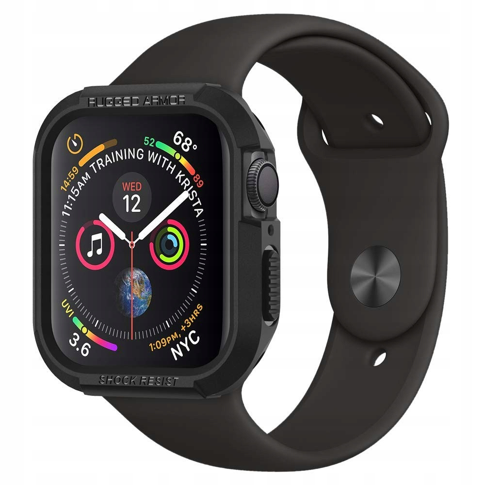 Etui do Apple Watch 44mm 5/4 Spigen Rugged, cover
