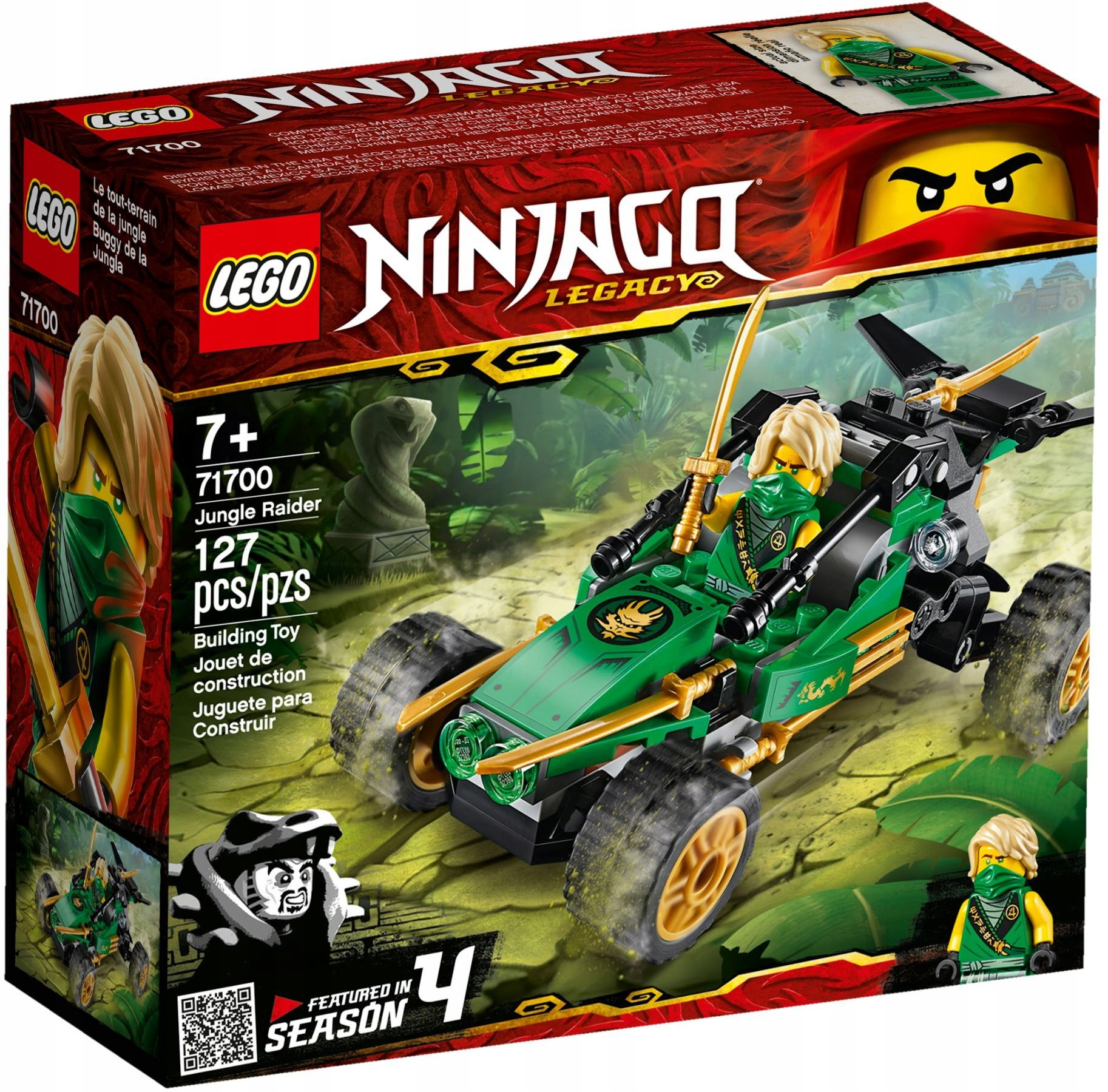 LEGO NINJAGO Jungle Racer 71700