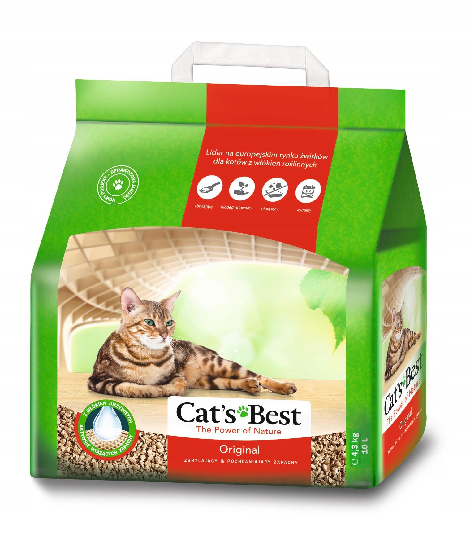Zwirek Cats Best Cat X27 S Best 20l Wiadro Promocja 6745565986 Allegro Pl