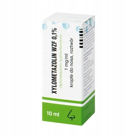 Купить Xylometazolin WZF 0,1%, krople katar alergia 10 ml на Otpravka - цены и фото - доставка из Польши и стран Европы в Украину.
