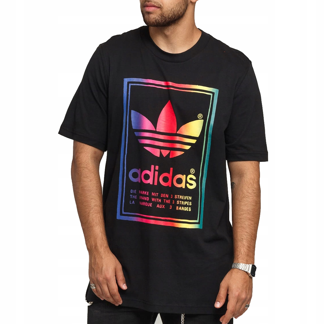 Мужская футболка Adidas Originals, футболка, винтаж ED6917