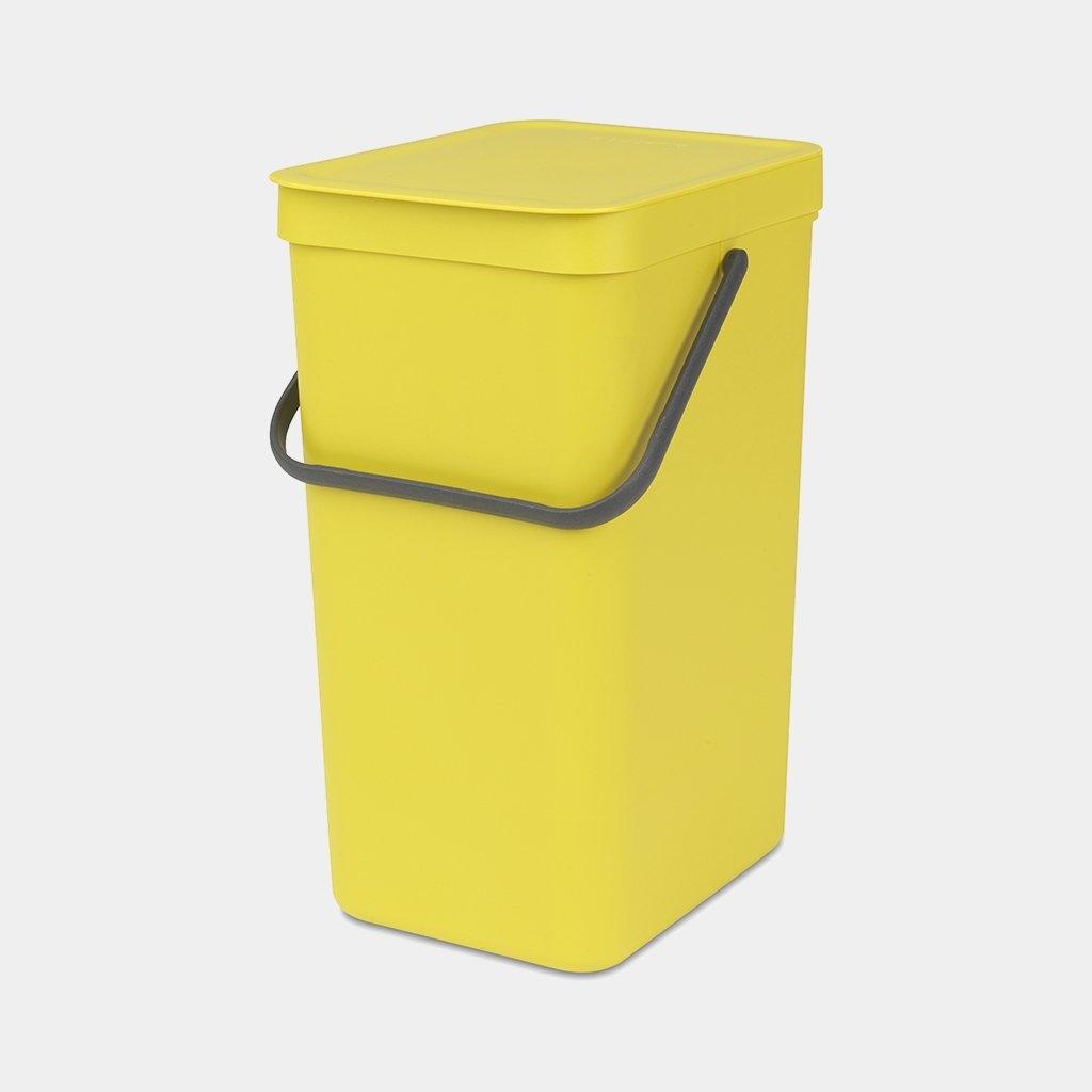 Brabantia Kôš Zoradiť & Jeho 16 litrov žltá