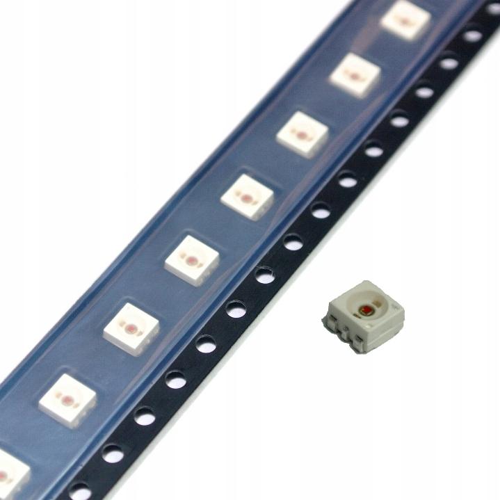Dioda LED żółta 5600mcd PLCC-6 OSRAM LYG6SP [1szt]