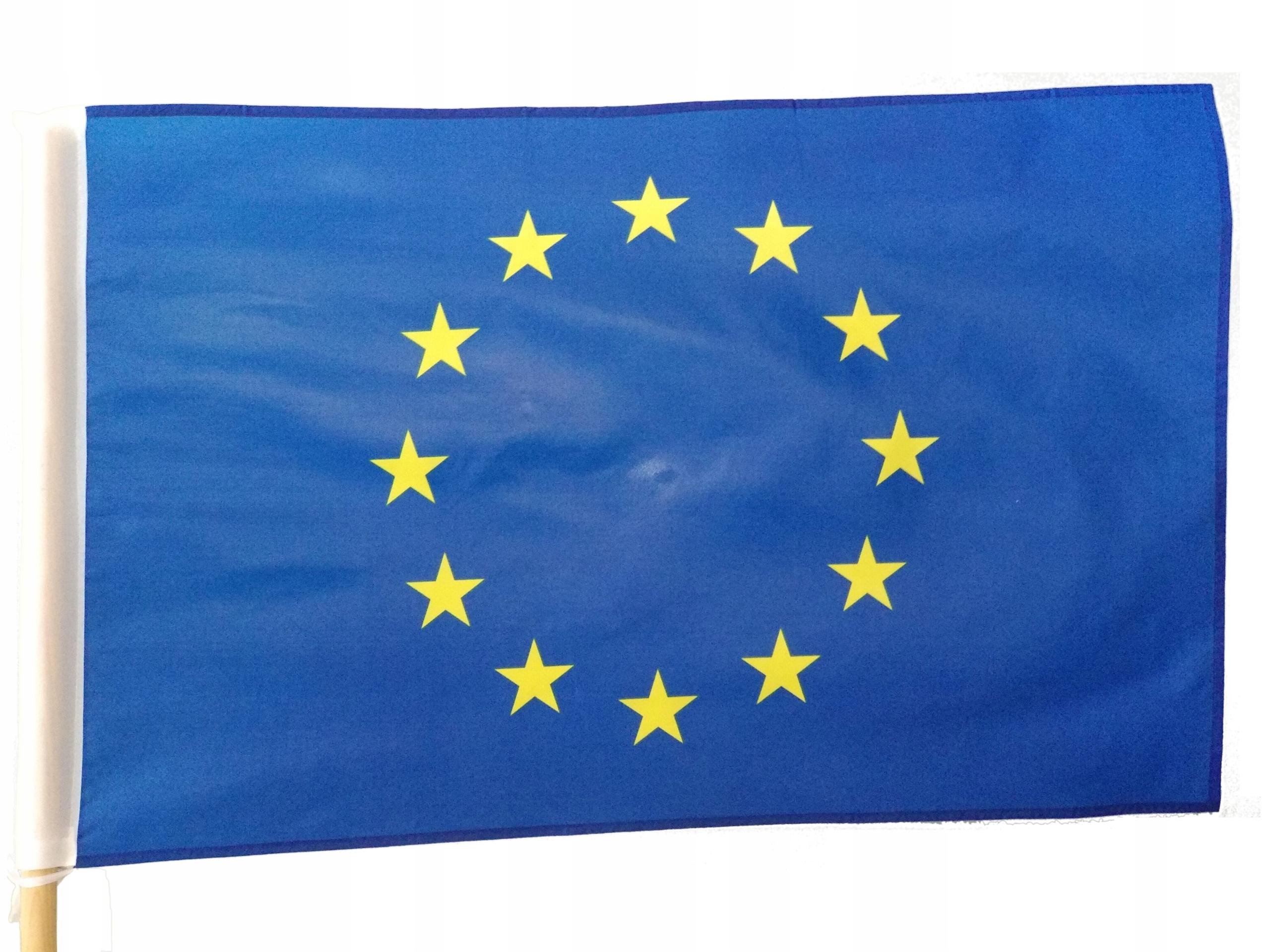 Купить ФЛАГ ЕВРОПЕЙСКОГО СОЮЗА 115x75 СМ ЕВРОПЕЙСКИЙ ТУННЕЛЬ ЕС EU на Otpravka - цены и фото - доставка из Польши и стран Европы в Украину.
