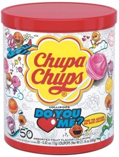 Chupa Chups Lizaki Love op. 50 sztuk