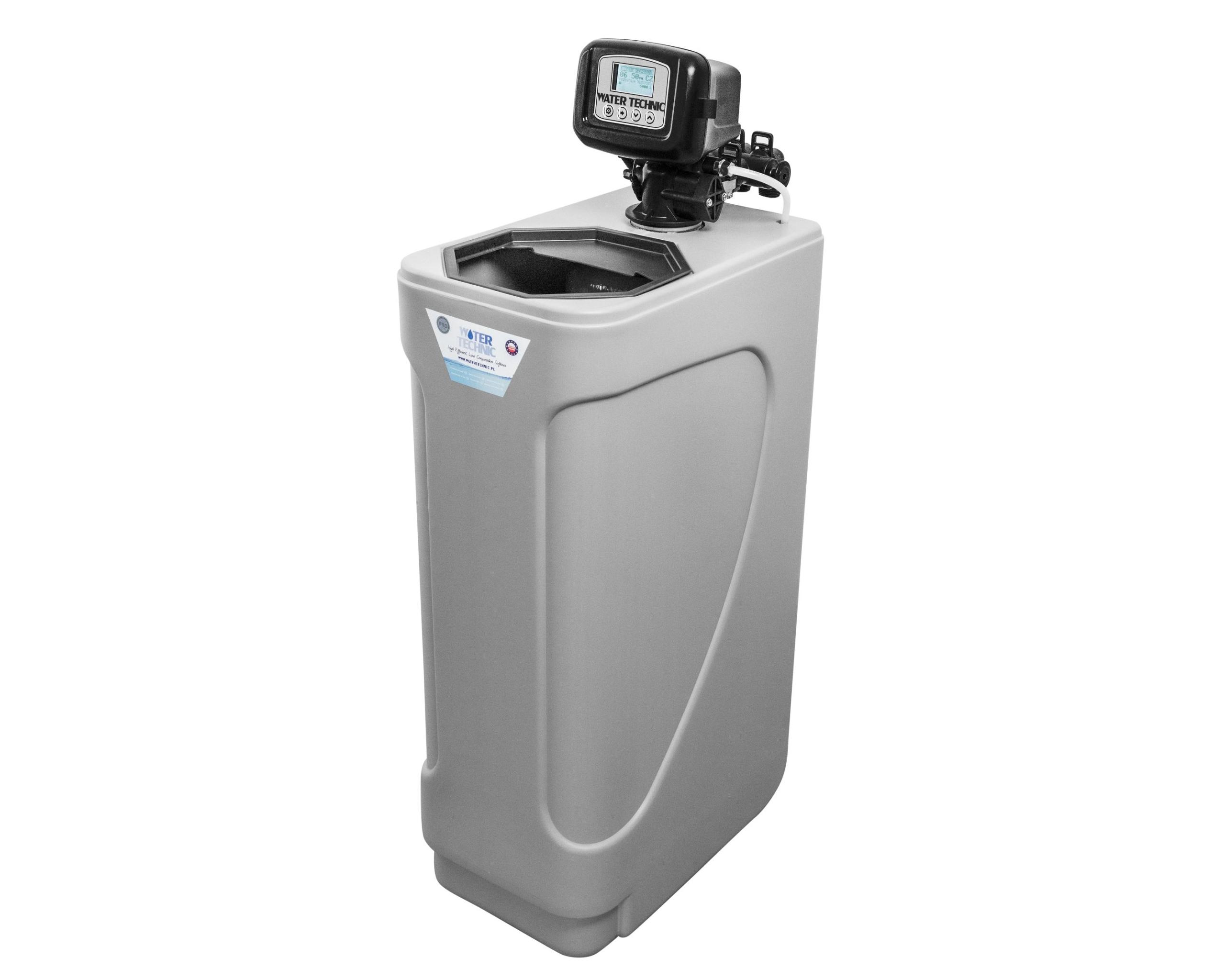 ZMIĘKCZACZ WODY WATER TECHNIC 32 +GENERATOR CHLORU Waga produktu z opakowaniem jednostkowym 42 kg