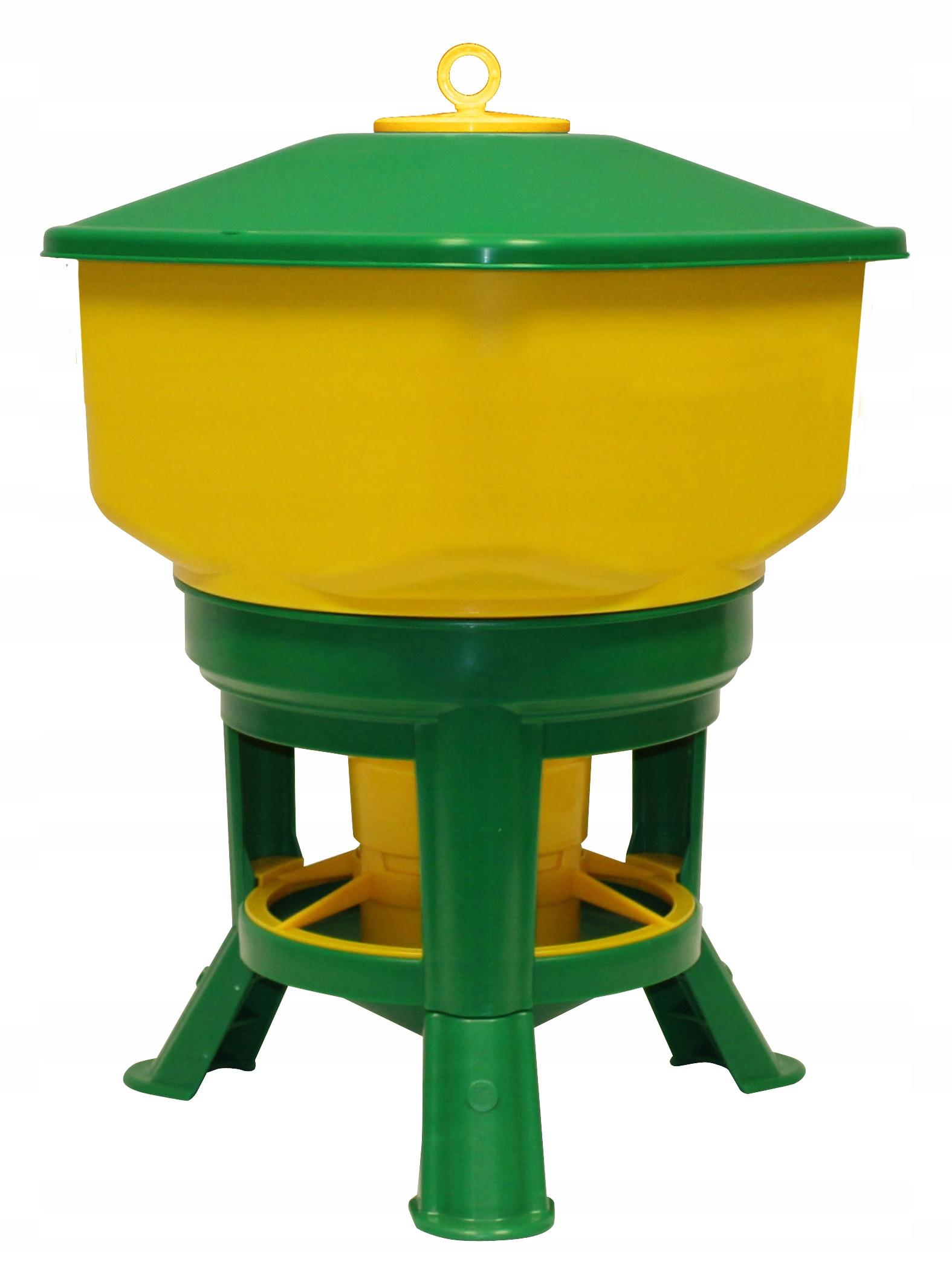 Лоток автоматического 30L для домашней птицы кур Novital