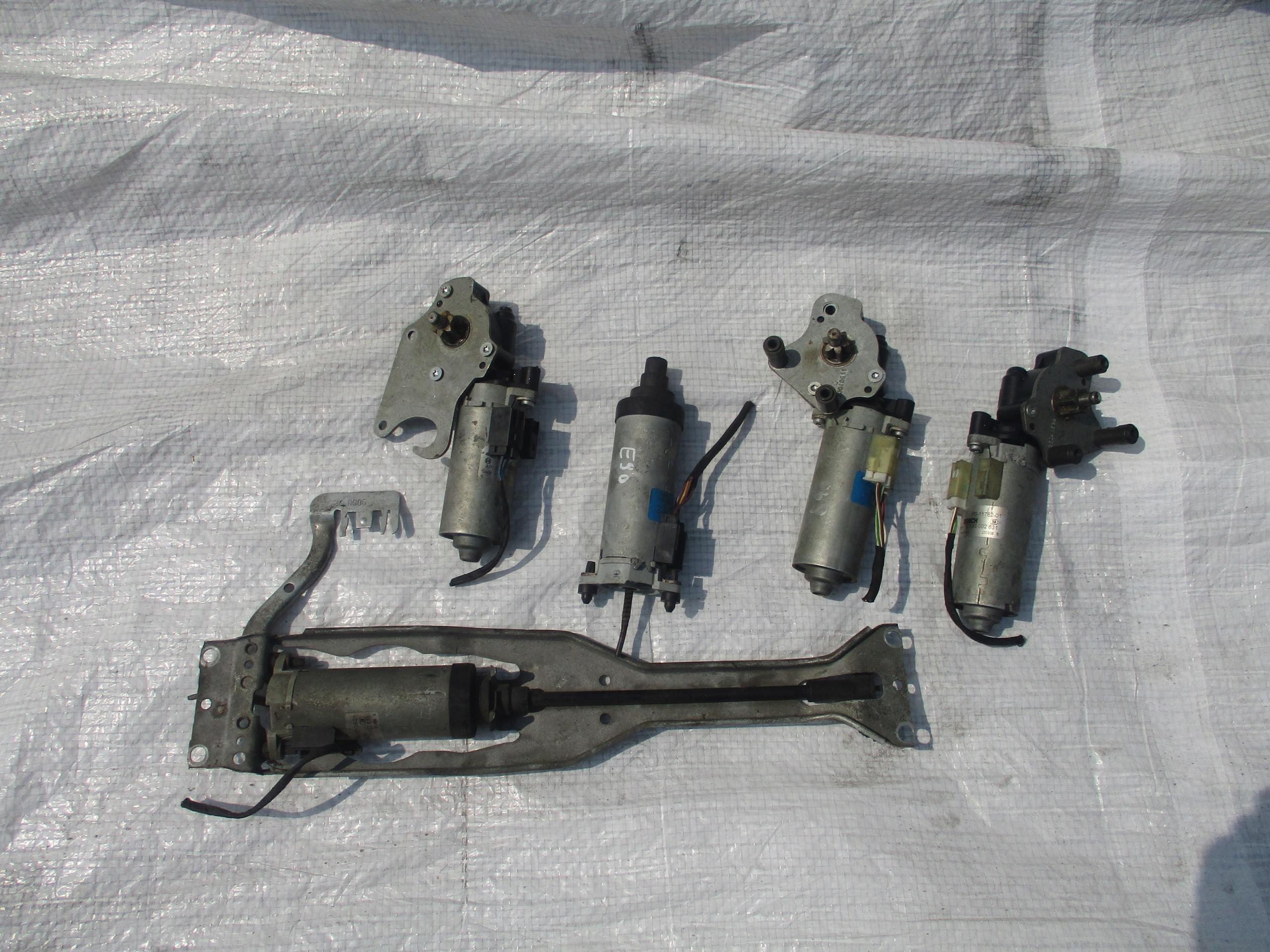 двигатель регулирования кресла bmw e60 e61 e90 e91 x5