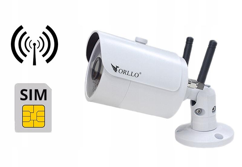 Kamera Zewnętrzna GSM SIM Router WiFi + Kamera 4MP Model CAMSIM