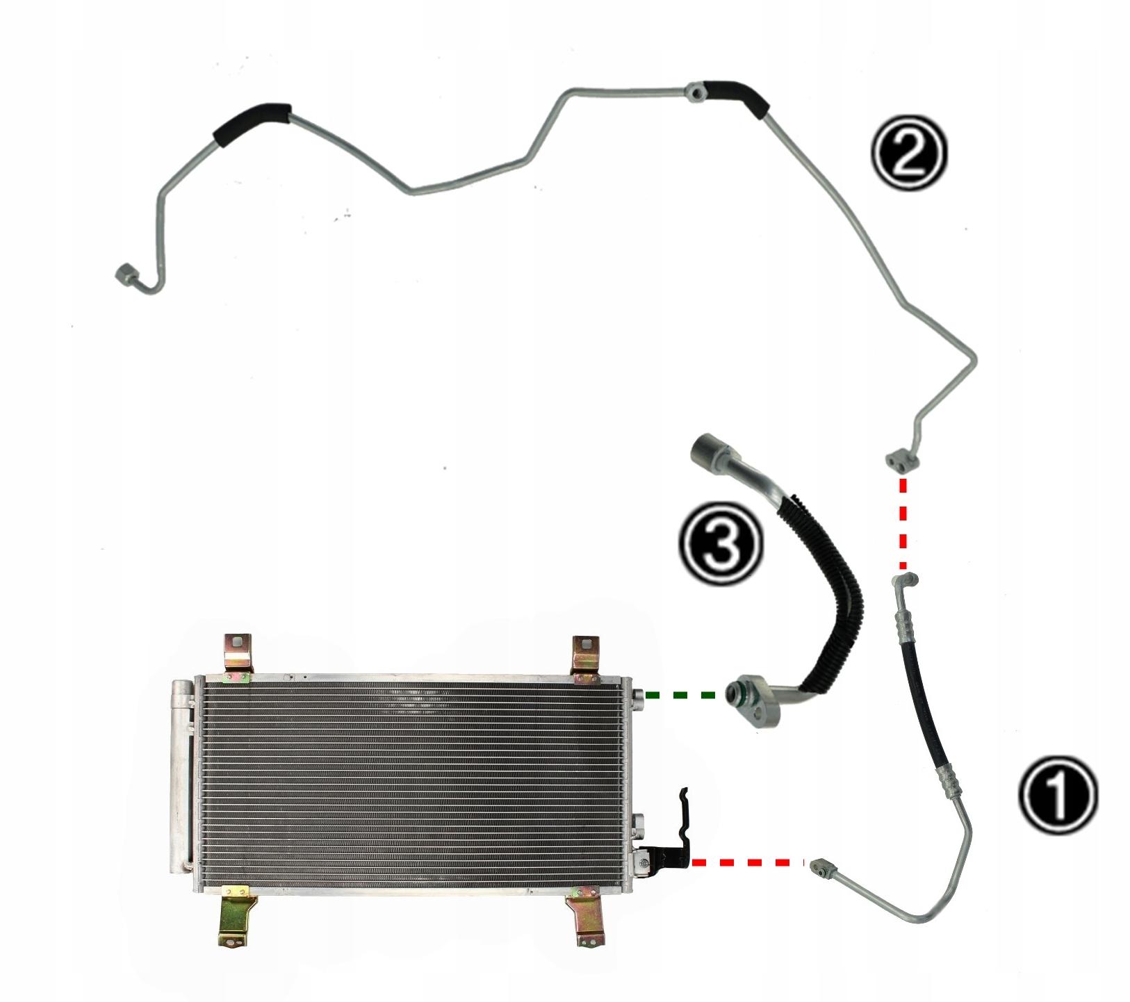 кабель насосы кондиционирования воздуха mazda 6 2002-07 61-463