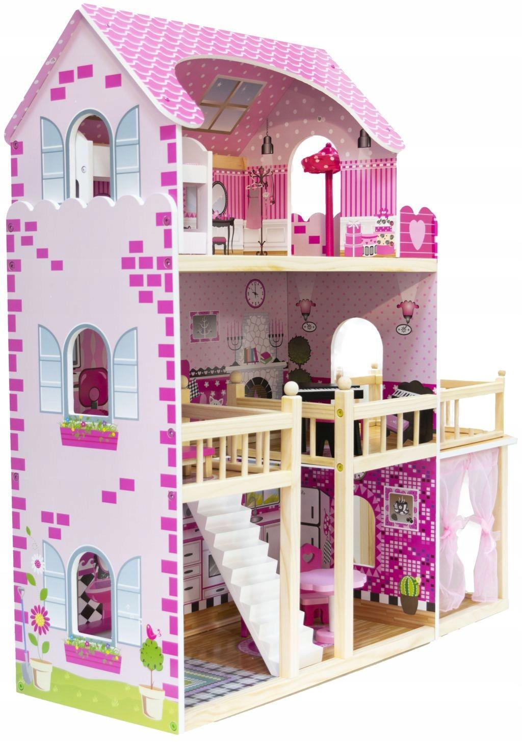 Domček NADIA s terasou a altánkom pre bábiky LOL
