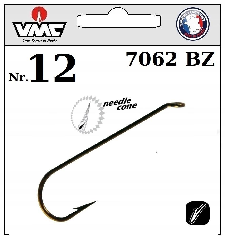 20 x HOOK VMC VNIUMENTY DRUIA 7062 BZ NO.12