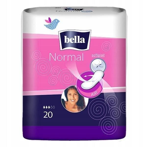 Podpaski Bella Normal 20 szt bez skrzydełek