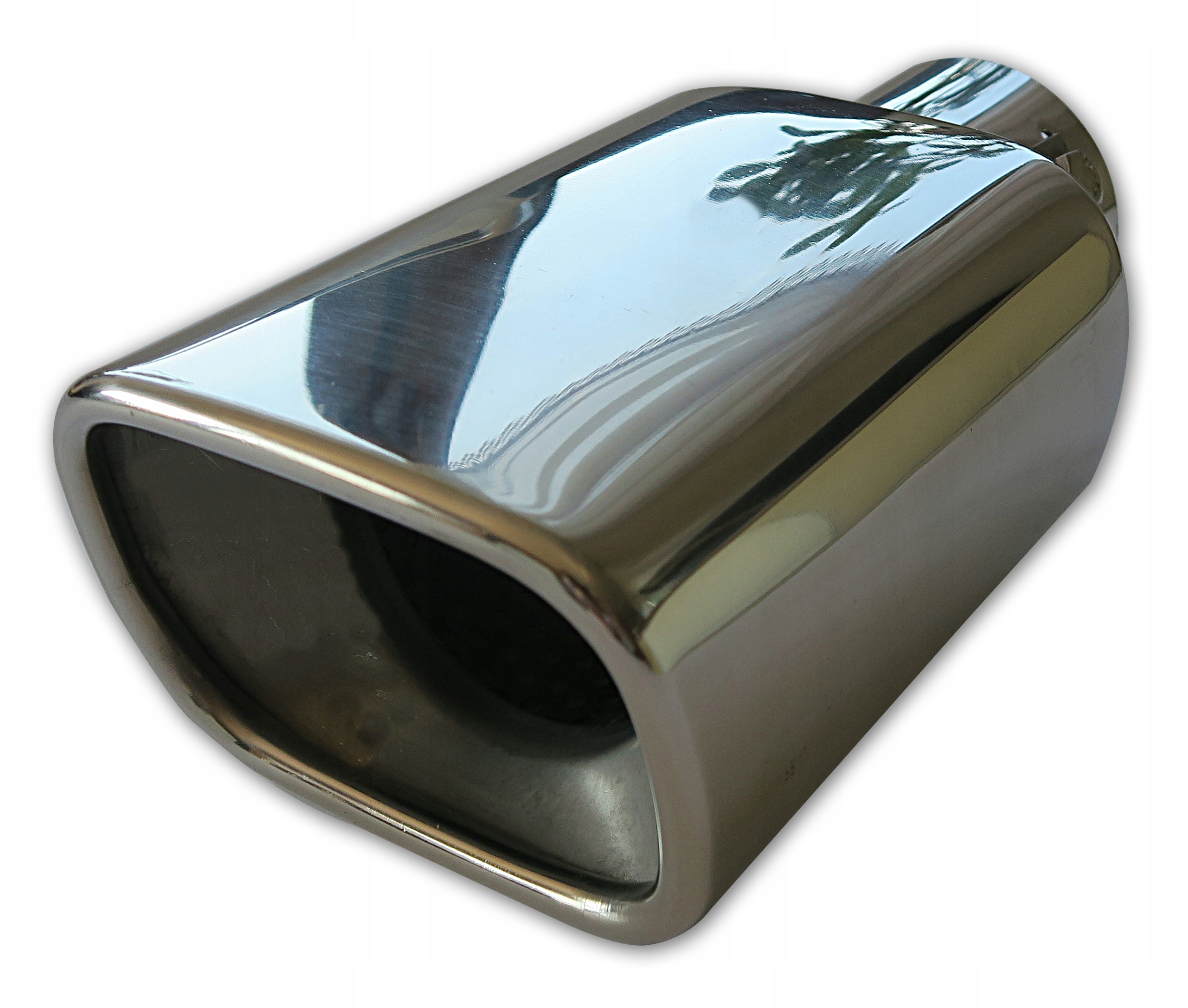 наконечник накладка на глушитель - сталь примененияи диффузор