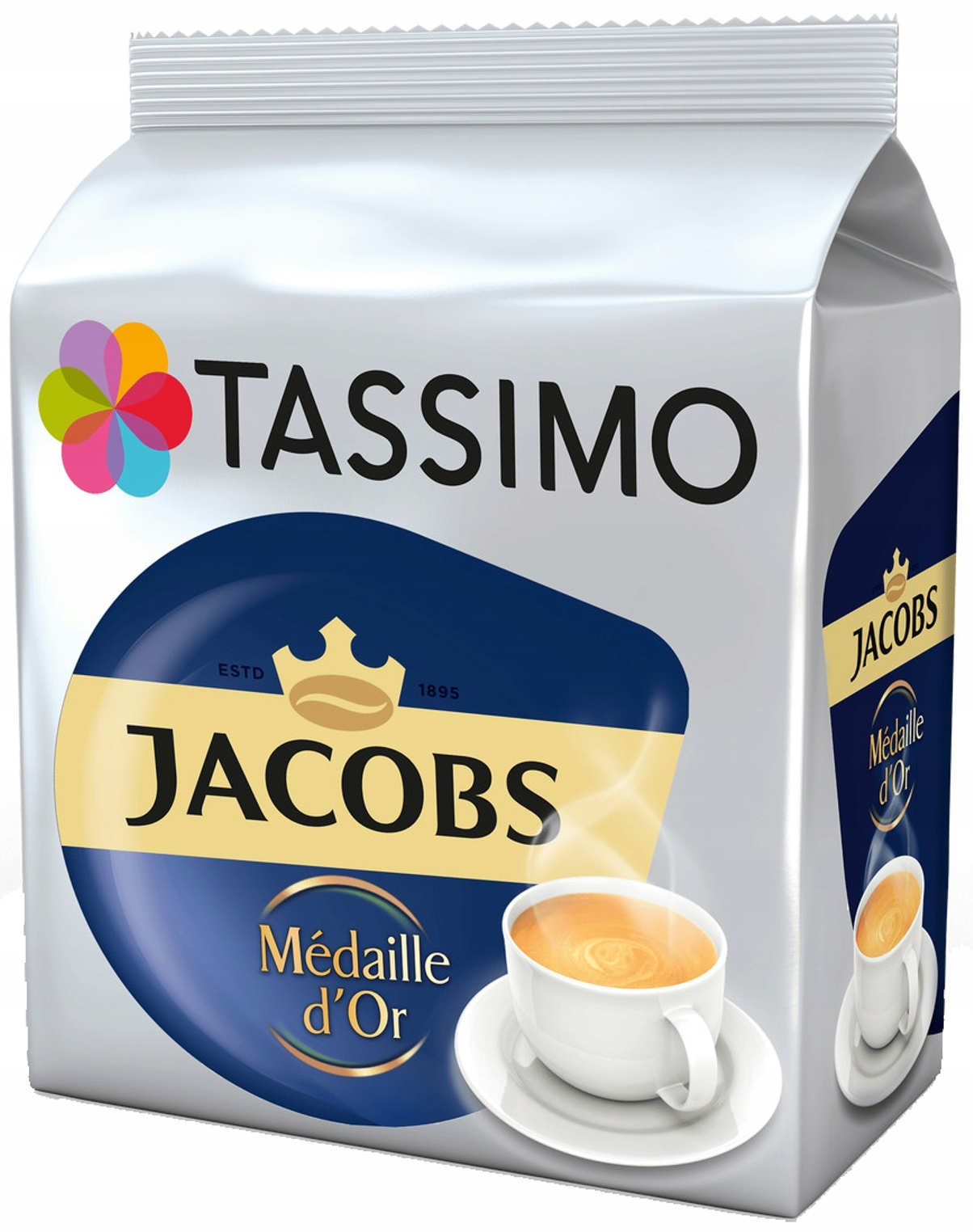 TASSIMO Jacobs Medaille d'Or в капсулах 100% арабика